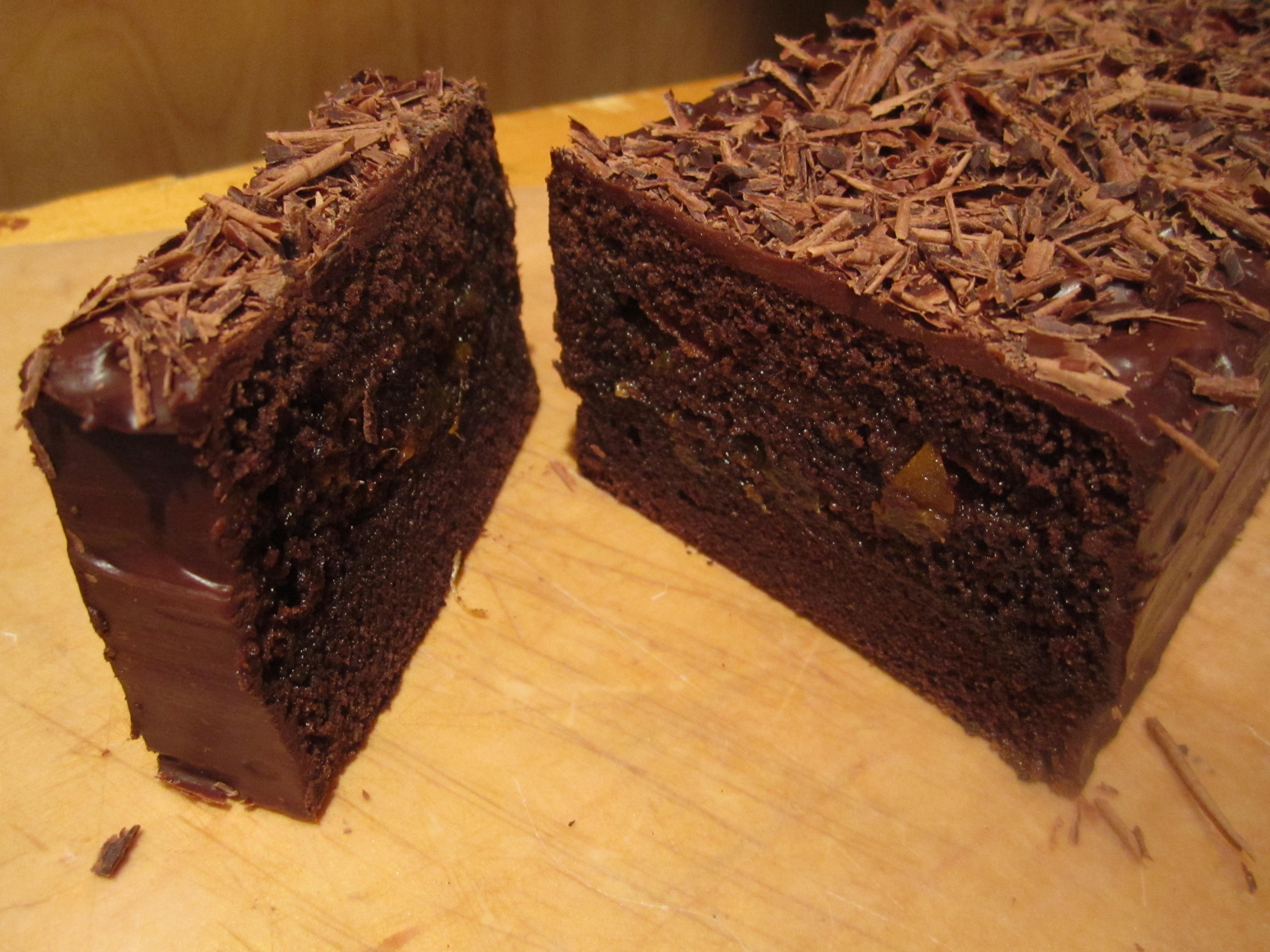 chocolate cake sacher torte from sachers in sacher torte at the sacher ...