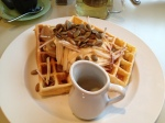 Arts Cafe - waffles